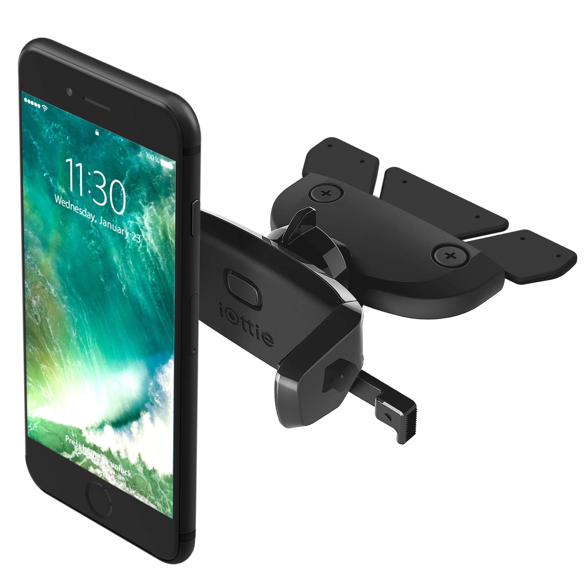 iOttie Easy One Touch Mini CD Slot Mount for iPhone & Smartphones